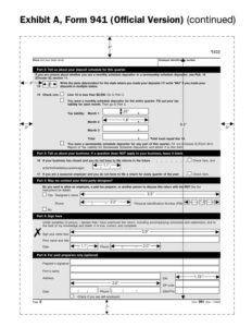 form 941 payroll taxes