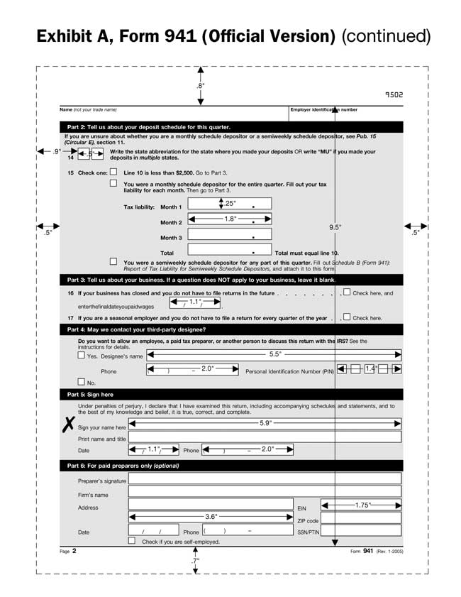 Instructions For Form 941 X Image Collections Form 1040 Instructions