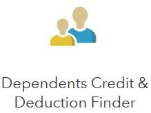 Dependents credits & deductions calculator who can i claim as a.